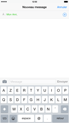 Apple iPhone 6 Plus iOS 8 - Contact, Appels, SMS/MMS - Envoyer un SMS - Étape 7