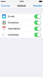 Apple iPhone 5s iOS 9 - Email - Adicionar conta de email -  8