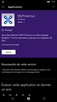 Microsoft Lumia 950 XL - Applications - MyProximus - Étape 8