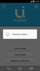 Huawei Ascend P7 - Network - Installing software updates - Step 8