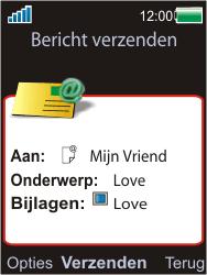 Sony Ericsson W595 - E-mail - Hoe te versturen - Stap 15