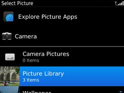 BlackBerry 9790 Bold - Mms - Sending a picture message - Step 12