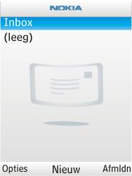Nokia X2-00 - E-mail - Hoe te versturen - Stap 6