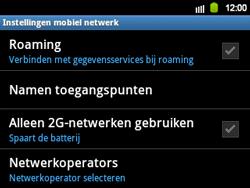 Samsung B5510 Galaxy TXT - Bellen - in het buitenland - Stap 6