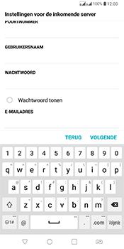 LG Q7 - E-mail - Account instellen (IMAP met SMTP-verificatie) - Stap 11
