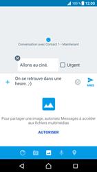 Sony Xperia XZ Premium - MMS - envoi d'images - Étape 12
