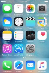 Apple iPhone 4 S iOS 9 - Troubleshooter - Affichage - Étape 1
