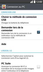 LG F70 - Internet et connexion - Utiliser le mode modem par USB - Étape 7