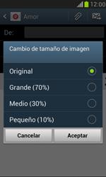 Samsung Galaxy S3 Mini - E-mail - Escribir y enviar un correo electrónico - Paso 14