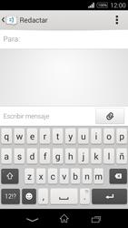 Sony D2203 Xperia E3 - Mensajería - Escribir y enviar un mensaje multimedia - Paso 5