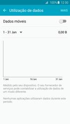 Samsung Galaxy S6 Edge - Internet no telemóvel - Como ativar os dados móveis -  5