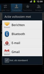 Samsung I9100 Galaxy S II - Contactgegevens overzetten - delen via Bluetooth - Stap 6