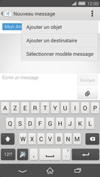Sony Xperia Z2 - Contact, Appels, SMS/MMS - Envoyer un MMS - Étape 11