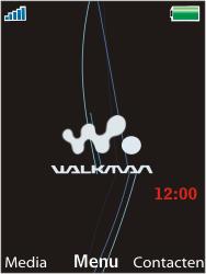 Sony Ericsson W595 - Internet - Handmatig instellen - Stap 1