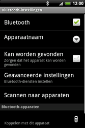 HTC A6363 Legend - Bluetooth - Headset, carkit verbinding - Stap 8