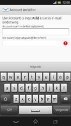 Sony Xperia SP 4G (C5303) - E-mail - Handmatig instellen - Stap 18