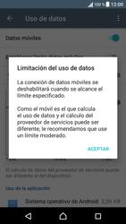 Sony Xperia X - Internet - Ver uso de datos - Paso 9