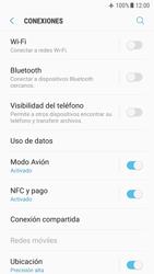 Samsung Galaxy S7 - Android Nougat - Funciones básicas - Activar o desactivar el modo avión - Paso 6