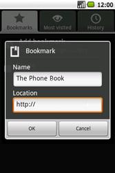 Samsung I5700 Galaxy Spica - Internet - Internet browsing - Step 11