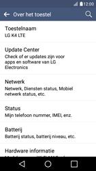 LG K4 - Software updaten - Update installeren - Stap 6