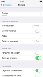 Apple iPhone 6s iOS 10 - Email - Adicionar conta de email -  10