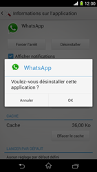 Sony Xpéria Z1 - Applications - Supprimer une application - Étape 7