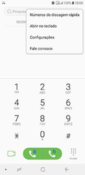 Samsung Galaxy J6 - Chamadas - Como bloquear chamadas de um número específico - Etapa 5