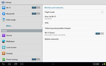 Samsung P5100 Galaxy Tab 2 10-1 - Mms - Manual configuration - Step 5