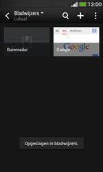HTC Desire 500 - Internet - internetten - Stap 12