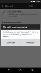 HTC Desire 816 - Bluetooth - headset, carkit verbinding - Stap 7