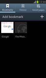 Samsung I8190 Galaxy S III Mini - Internet - Internet browsing - Step 9