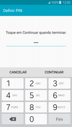 Samsung Galaxy J5 - Segurança - Como ativar o código de bloqueio do ecrã -  8