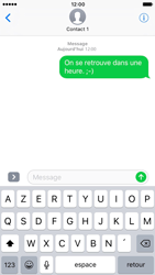 Apple iPhone 7 - Contact, Appels, SMS/MMS - Envoyer un SMS - Étape 9