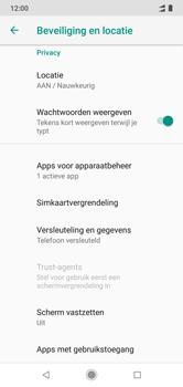 Xiaomi mi-a2-lite-dual-sim-m1805d1sg - Beveiliging en ouderlijk toezicht - Hoe wijzig ik mijn SIM PIN-code - Stap 5