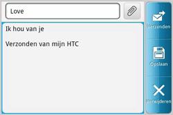 HTC A810e ChaCha - E-mail - E-mails verzenden - Stap 8