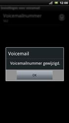 Sony Ericsson Xperia Arc - Voicemail - handmatig instellen - Stap 9