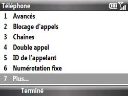 HTC S521 Snap - SMS - Configuration manuelle - Étape 5