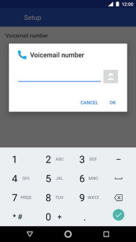 Nokia 6 (2018) - Voicemail - Manual configuration - Step 10