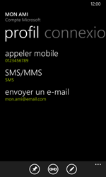 Nokia Lumia 635 - Contact, Appels, SMS/MMS - Ajouter un contact - Étape 12