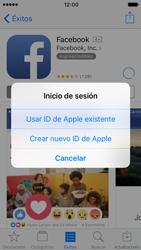 Apple iPhone SE iOS 10 - Aplicaciones - Tienda de aplicaciones - Paso 8