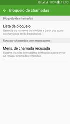 Samsung Galaxy J3 Duos - Chamadas - Como bloquear chamadas de um número específico - Etapa 8