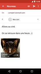 Motorola Moto E (1st Gen) (Lollipop) - E-mails - Envoyer un e-mail - Étape 14