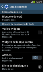 Samsung Galaxy Grand Neo - Segurança - Como ativar o código de bloqueio do ecrã -  6