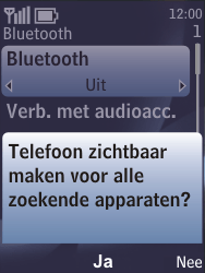 Nokia 6700 classic - bluetooth - aanzetten - stap 7