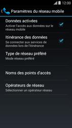 Bouygues Telecom Ultym 5 II - Aller plus loin - Désactiver les données à l'étranger - Étape 6