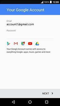 Acer Liquid Zest 4G Plus - Applications - Create an account - Step 18