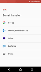Sony Xperia XZ Premium - E-mail - handmatig instellen (gmail) - Stap 8