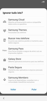 Samsung Galaxy A20 - Primeiros passos - Como ativar seu aparelho - Etapa 18