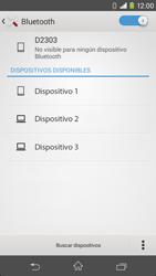 Sony Xperia M2 - Bluetooth - Conectar dispositivos a través de Bluetooth - Paso 6