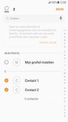 Samsung Galaxy S6 - Android Nougat - Contactgegevens overzetten - delen via Bluetooth - Stap 7
